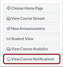 Open Course Notifications