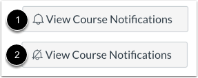 View Course Notifications Icon