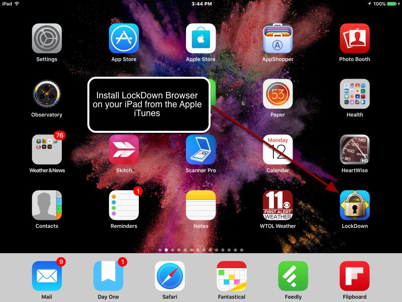 Step 1 - Downloading the LockDown Browser App