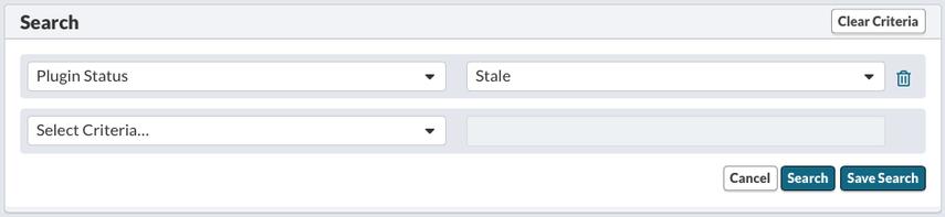 Plugin Results - Stale Plugin Results