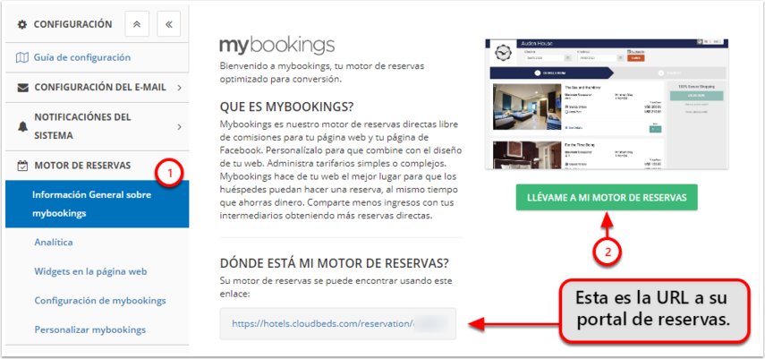 DEMO - Colombian Highlands - Configuración - Mybookings - Google Chrome