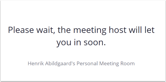 Henrik Abildgaard's Personal Meeting Room – Google Chrome