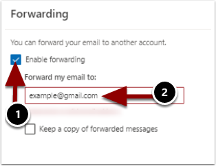 enable forwarding
