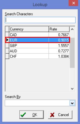 Choosing a Currency