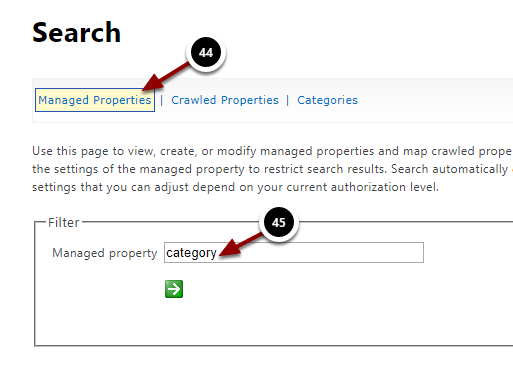 Managed Properties - Google Chrome