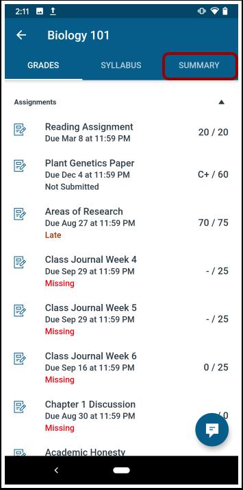 Open Course Summary