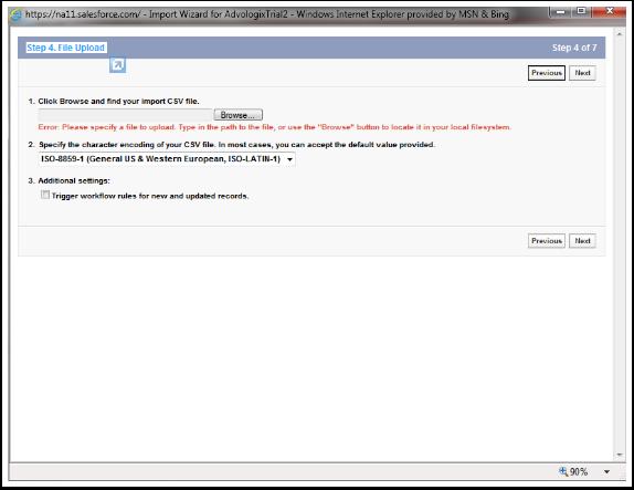 Step 4. File Upload
