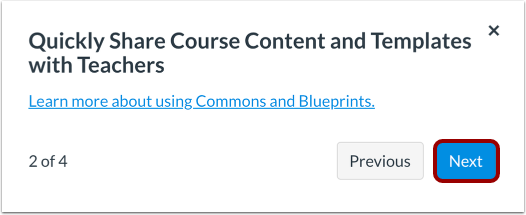 Share Course Content & Templates