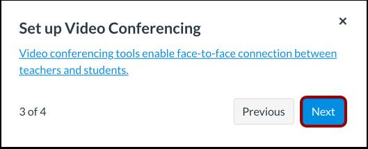 Set Up Video Conferencing