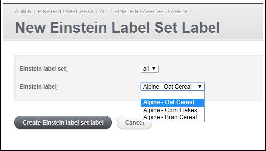 New Einstein Label Set Label | SharinPix - Google Chrome