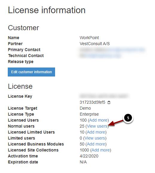 License information - Google Chrome