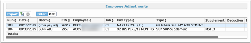 Payroll Reports