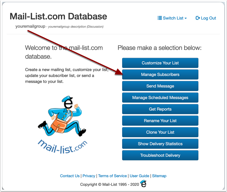 Mail-List.com Database