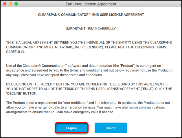 Mac end user license agreement