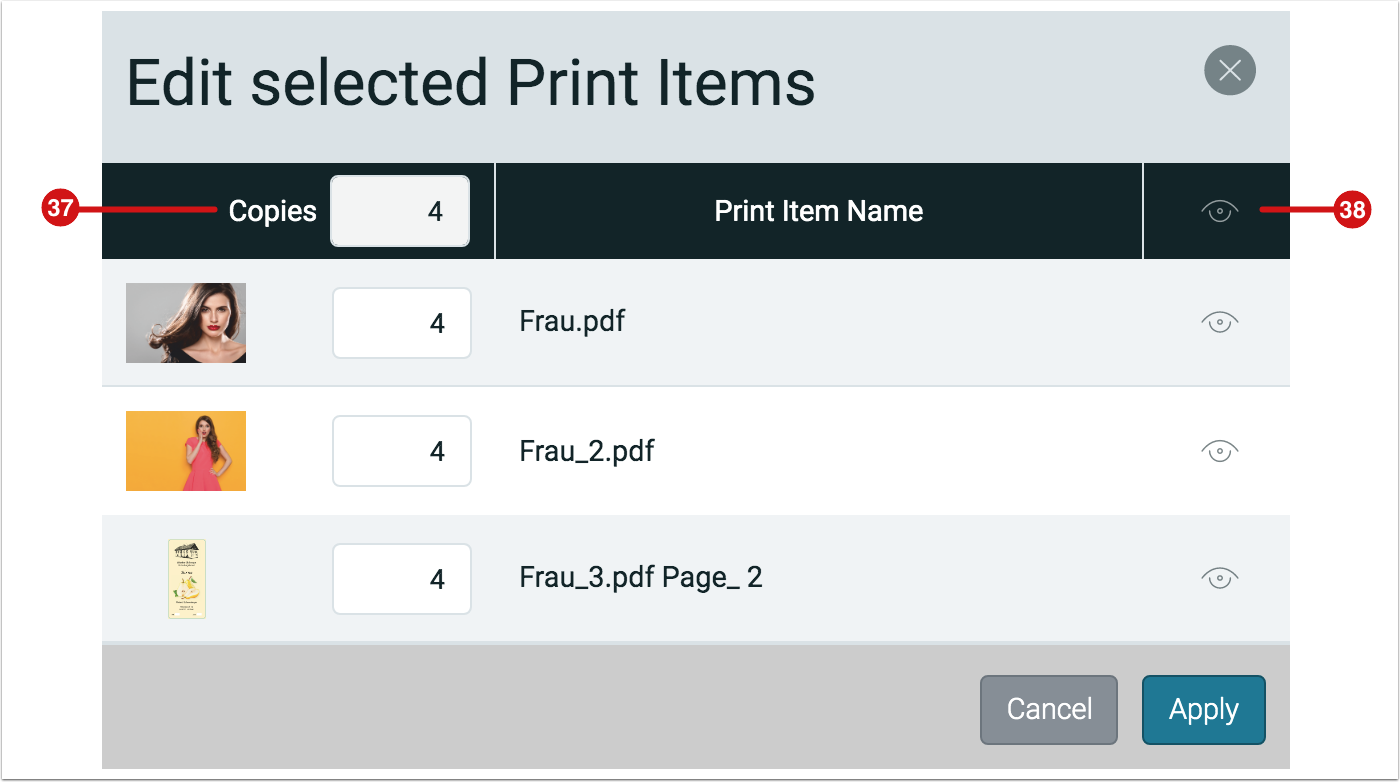 Impose Editor - Edit Selected Print Items - 1.7.6