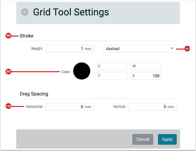 Grid Tool Settings - 1.7.6
