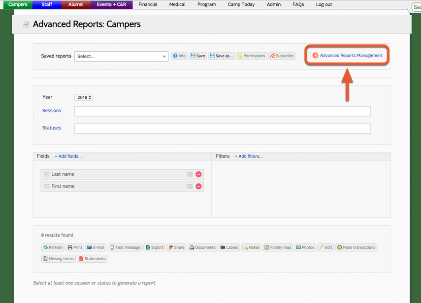 Using reports