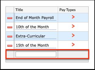 Run Payroll