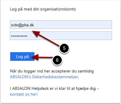 Log på – Google Chrome