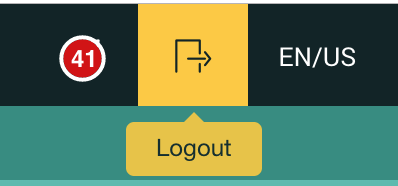 manual logout button