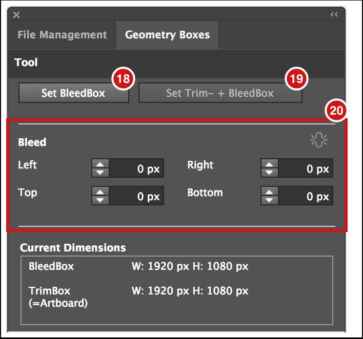 Adobe Illustrator Plug-in - Geometry Boxes