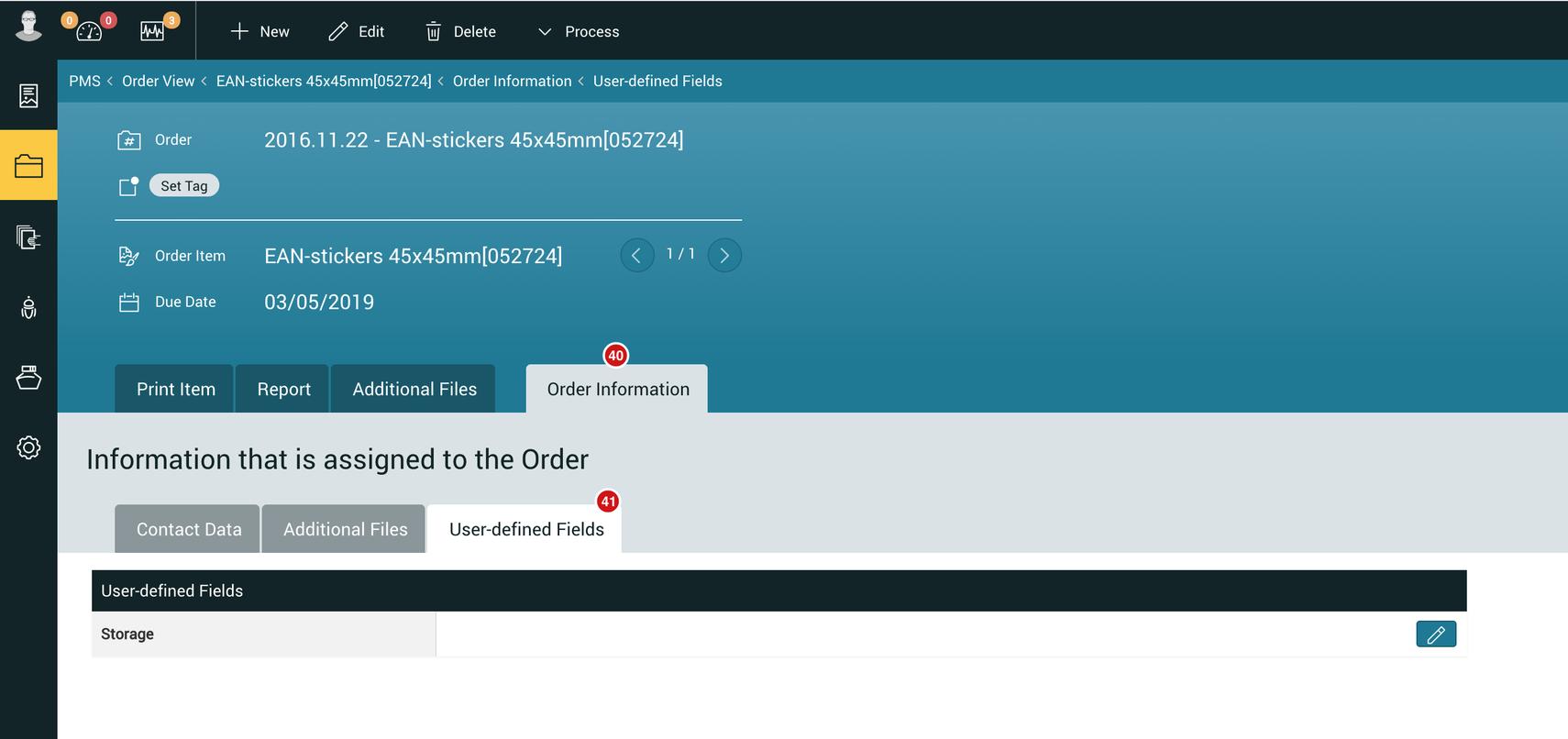 Order - Custom Field - 1.7.3
