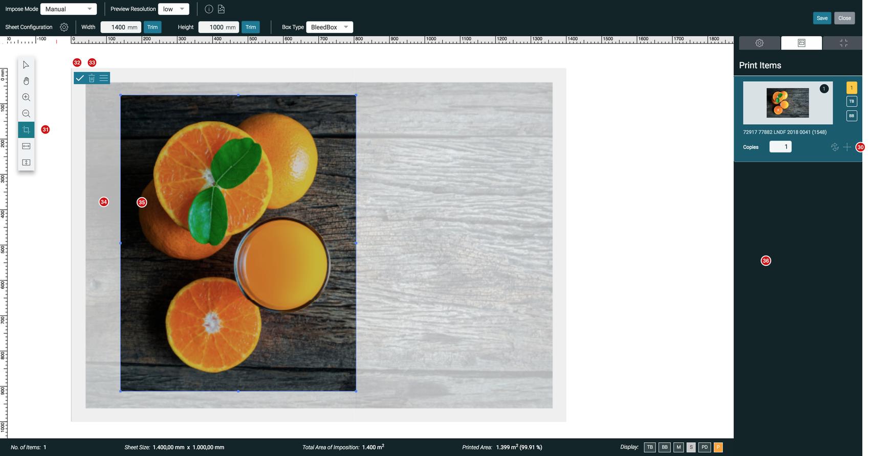Impose Editor Crop Tool 1.7.2