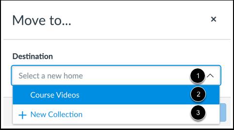 Select Destination