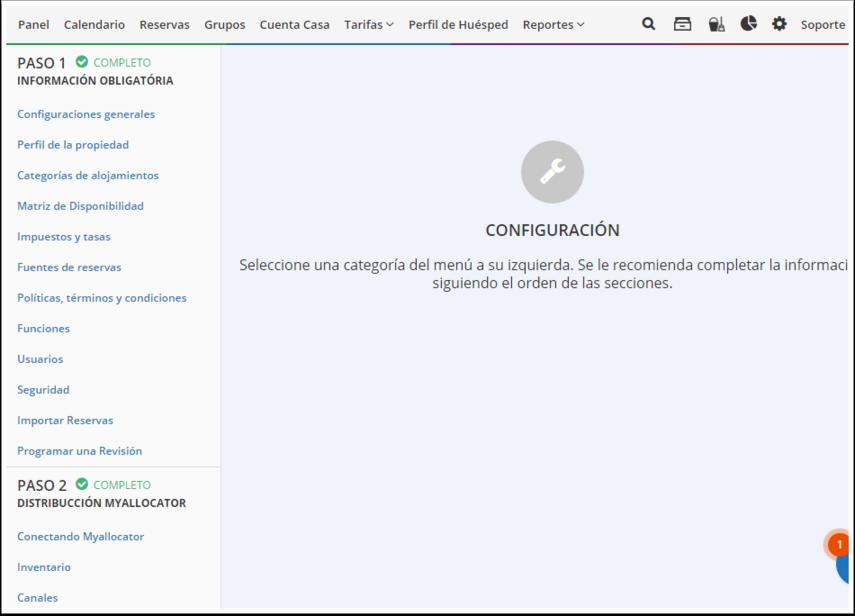 DEMO - El Bolsón - Guía de configuración - Google Chrome