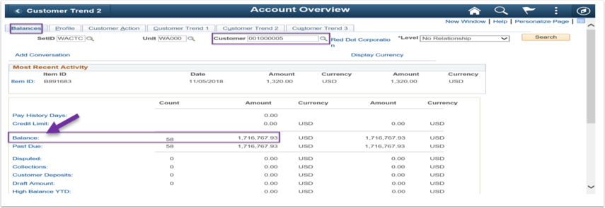Account Overview Balance Image