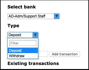 Setup Leave Bank Balances