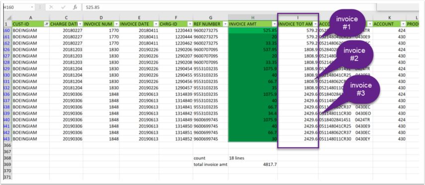 Excel Export Invoice Image