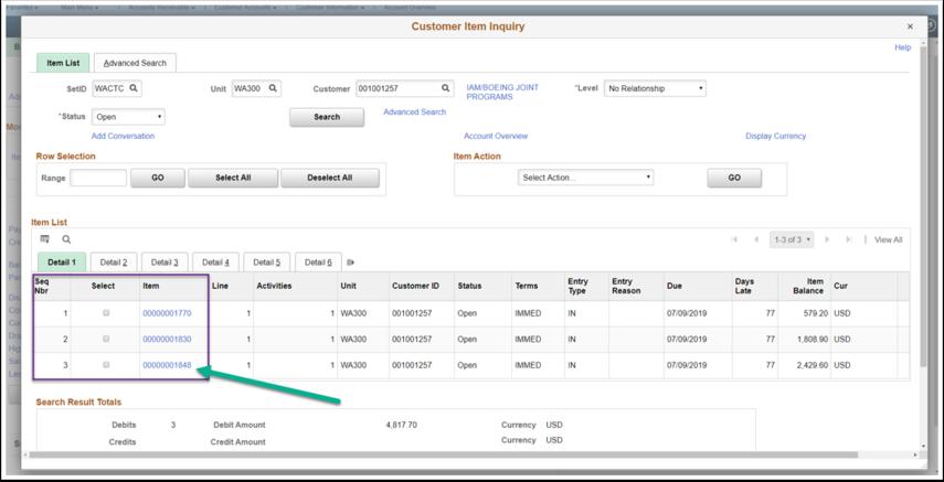Customer Item Inquiry Detail 1 Image