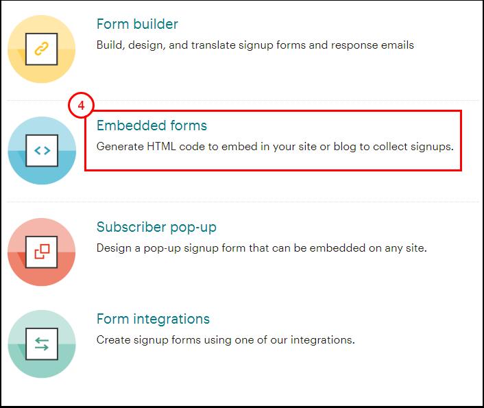 Signup forms for Cloudbeds | Mailchimp - Google Chrome