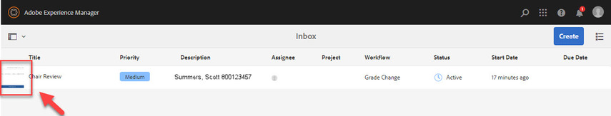 Box highlighting document icon