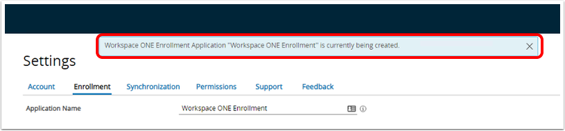 Submitting Enrollment Application