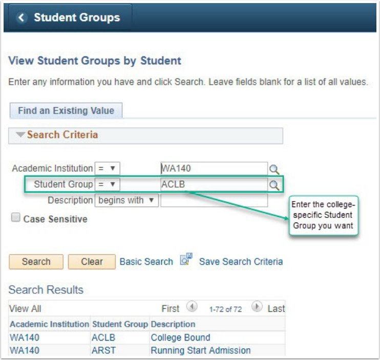 Students by Group Name page 1 Image