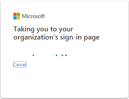 Fill in your credentials and click Sign-in.