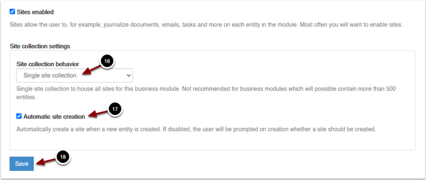 Add Business Module - Google Chrome