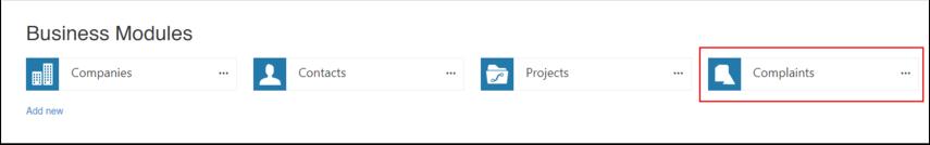 Business Modules - Google Chrome