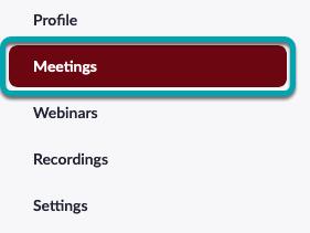 My Meetings