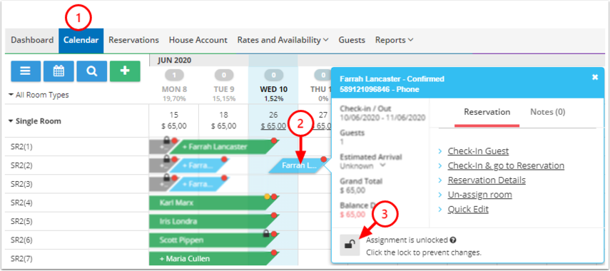 Marcos Borges Test Property - Calendar - Google Chrome