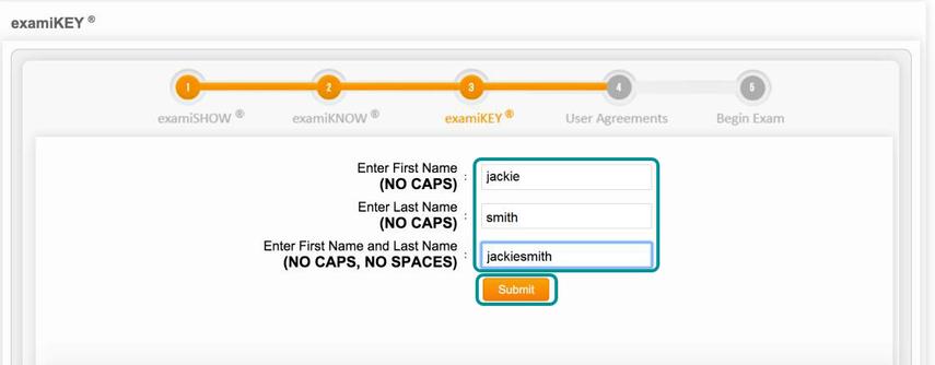Type your biometric signature.