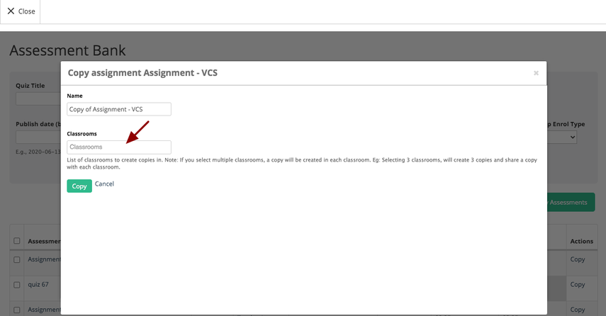 (24) Assignment - VCS | Teamie Next