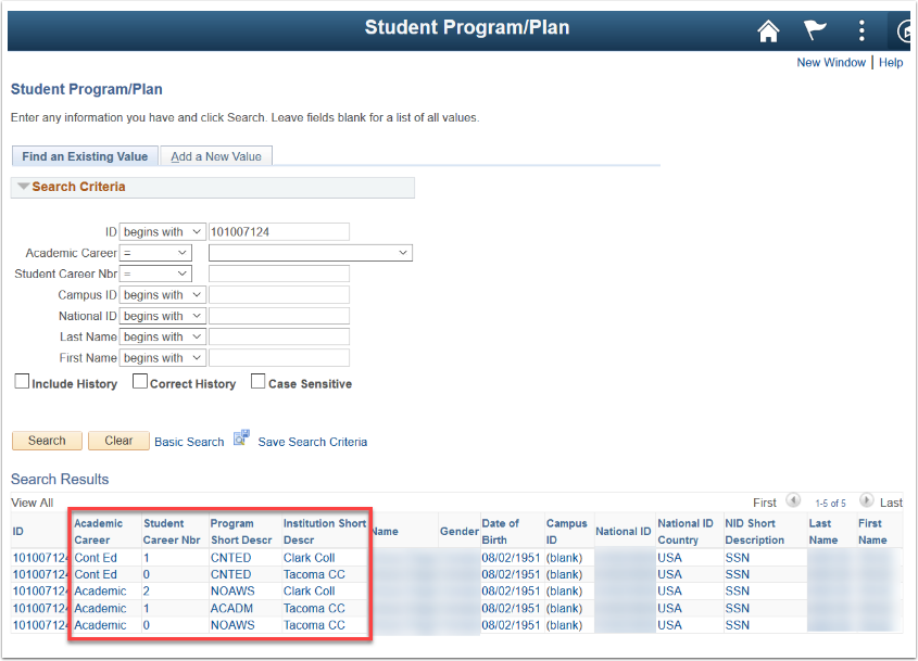 Student Program/Plan Image