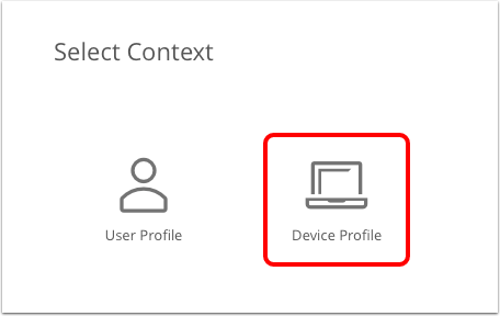 Select device profile in Workspace ONE UEM admin console.