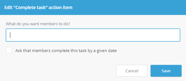 Complete a Task