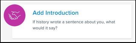 Add Introduction