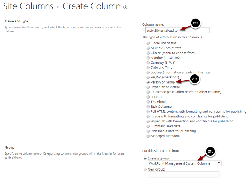 Create Column - Google Chrome