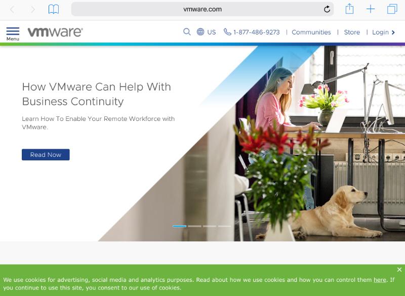 Workspace ONE Notification opens link in Intelligent Hub app
